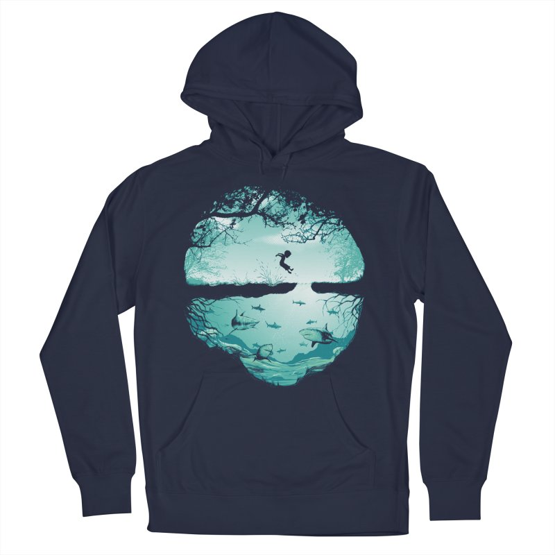 The big puddle Men's French Terry Pullover Hoody by MrWayne