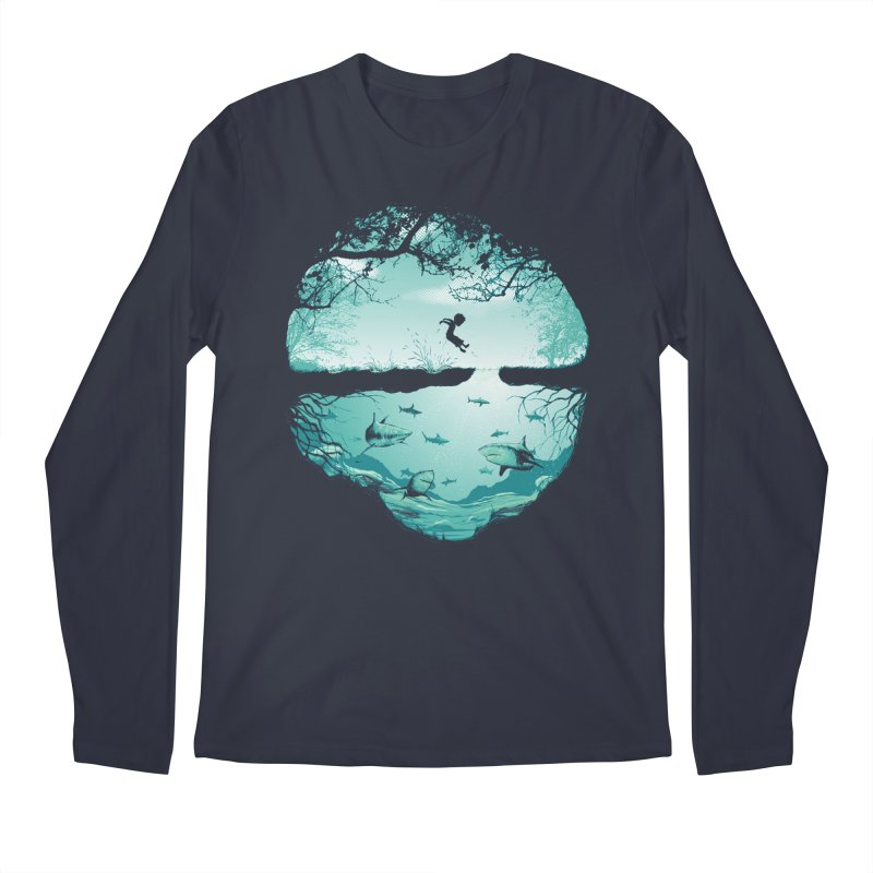 The big puddle Men's Regular Longsleeve T-Shirt by MrWayne