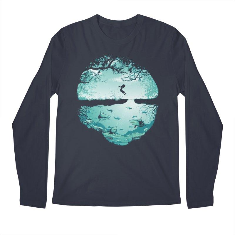 The big puddle Men's Longsleeve T-Shirt by MrWayne