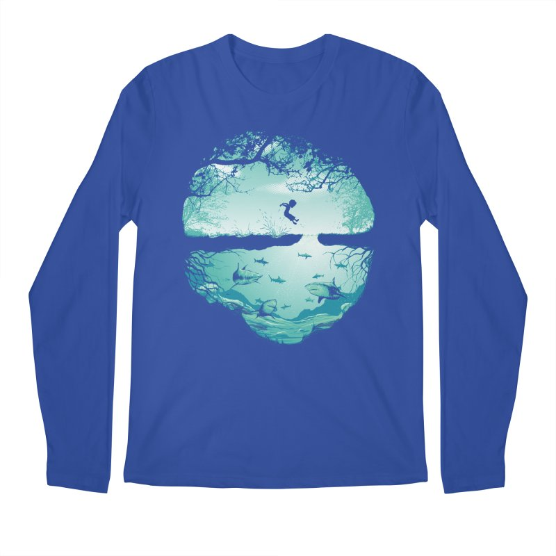 The big puddle Men's Longsleeve T-Shirt by MrWayne