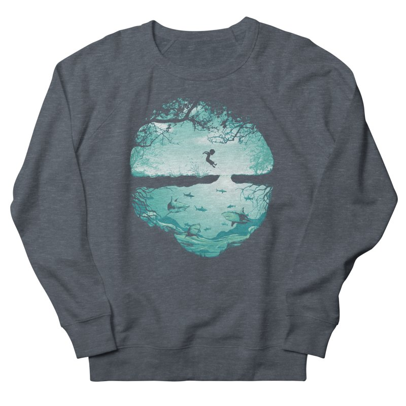 The big puddle Women's French Terry Sweatshirt by MrWayne