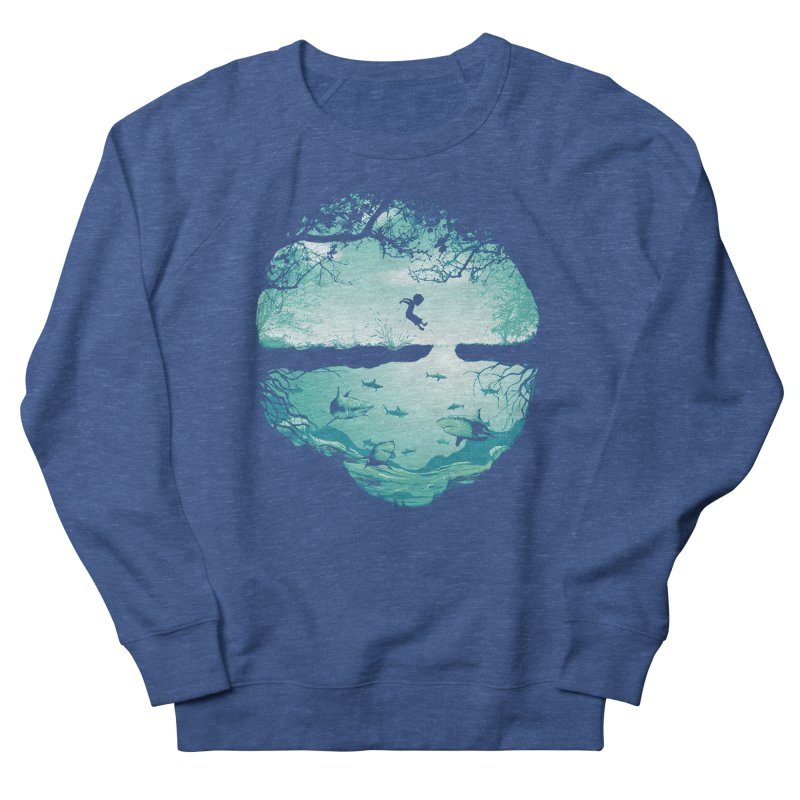 The big puddle Men's French Terry Sweatshirt by MrWayne
