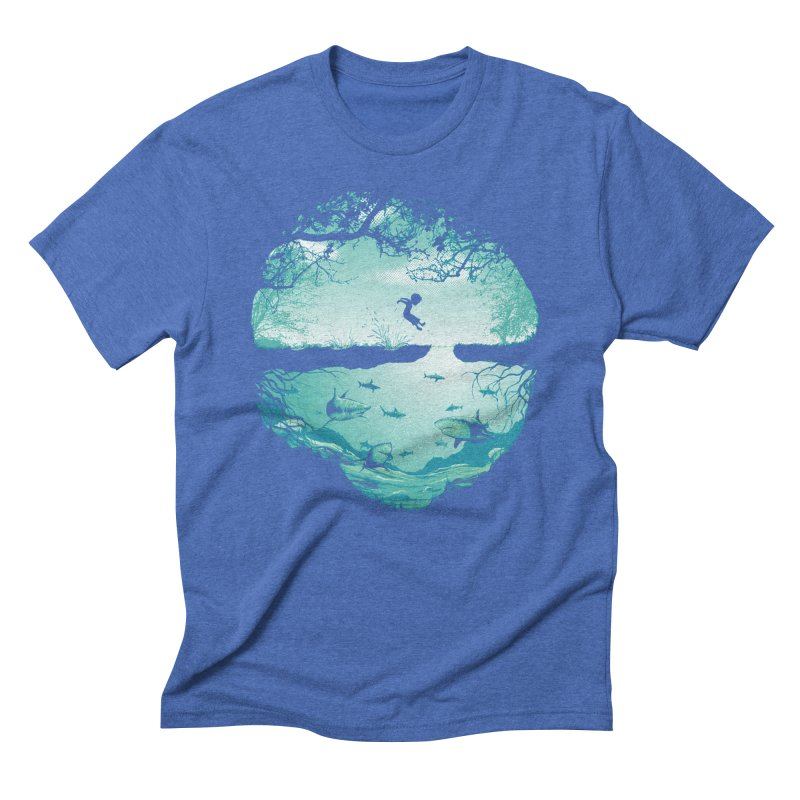 The big puddle Men's Triblend T-Shirt by MrWayne