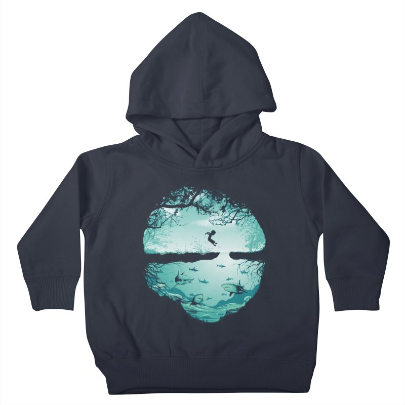 The big puddle Kids Toddler Pullover Hoody by MrWayne