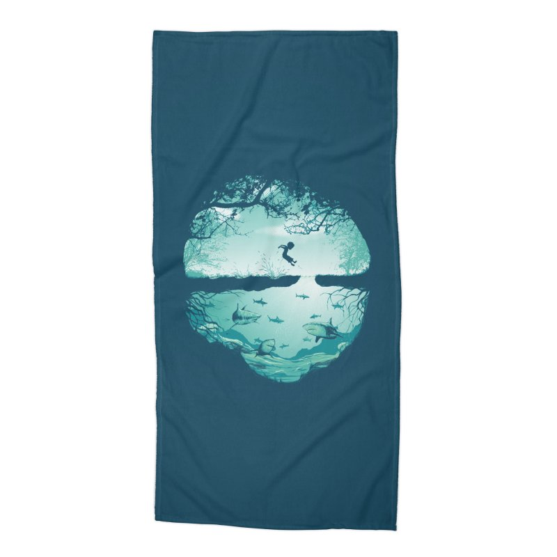 The big puddle Accessories Beach Towel by MrWayne