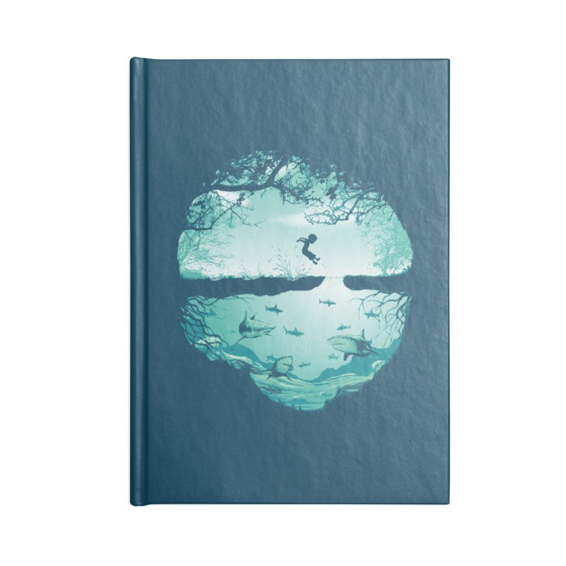 The big puddle Accessories Notebook by MrWayne