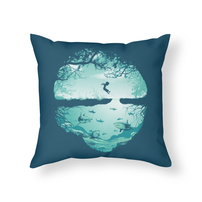 The big puddle Home Throw Pillow by MrWayne