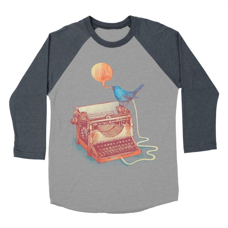 The first tweet Men's Baseball Triblend T-Shirt by MrWayne