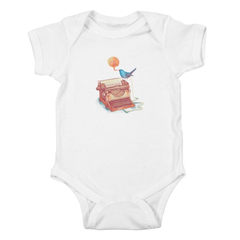 The first tweet Kids Baby Bodysuit by MrWayne