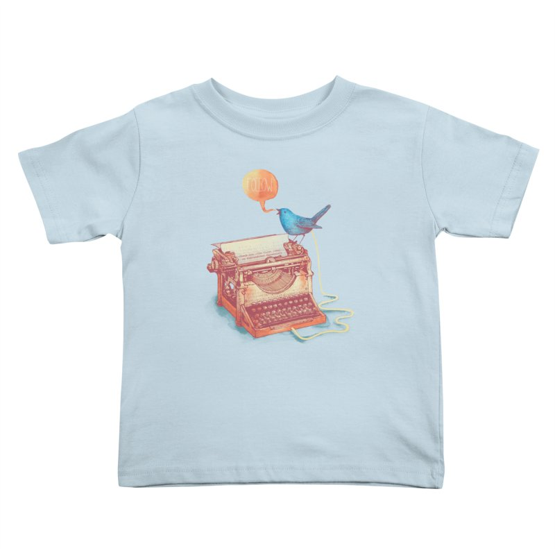 The first tweet Kids Toddler T-Shirt by MrWayne