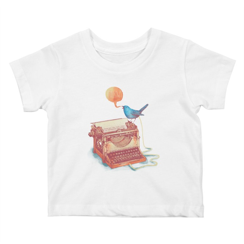 The first tweet Kids Baby T-Shirt by MrWayne