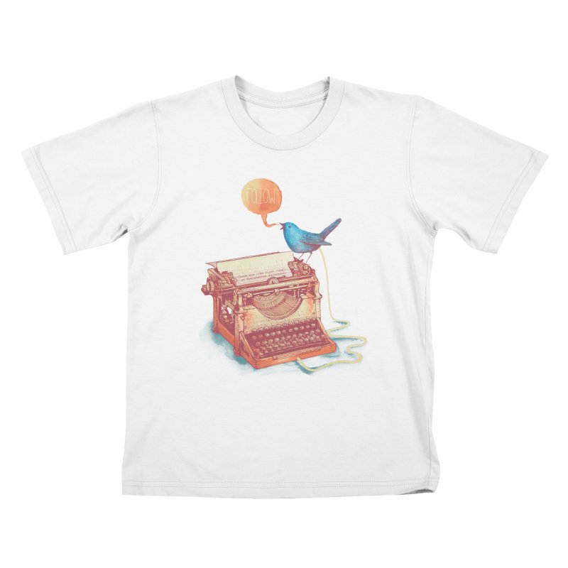 The first tweet Kids T-shirt by MrWayne