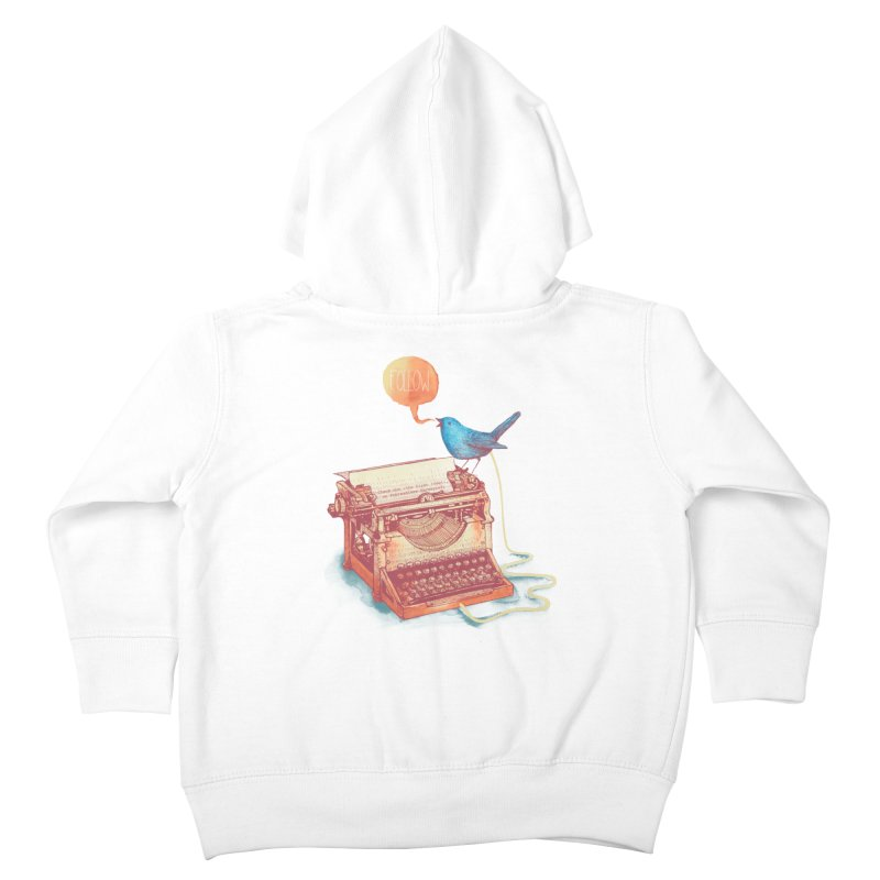 The first tweet Kids Toddler Zip-Up Hoody by MrWayne