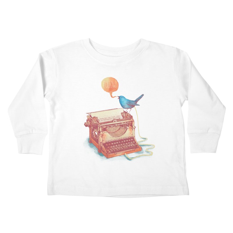 The first tweet Kids Toddler Longsleeve T-Shirt by MrWayne
