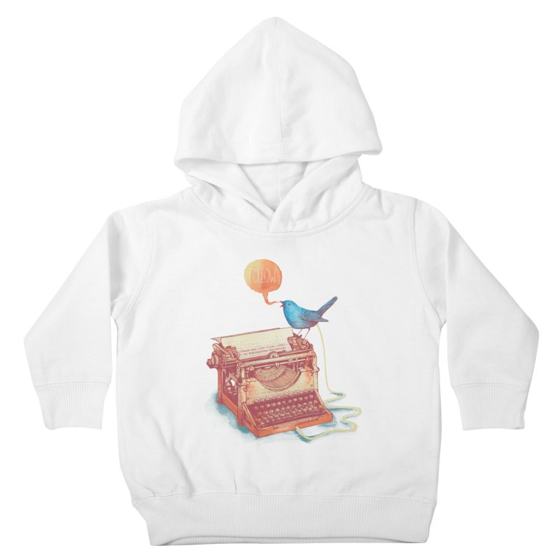 The first tweet Kids Toddler Pullover Hoody by MrWayne