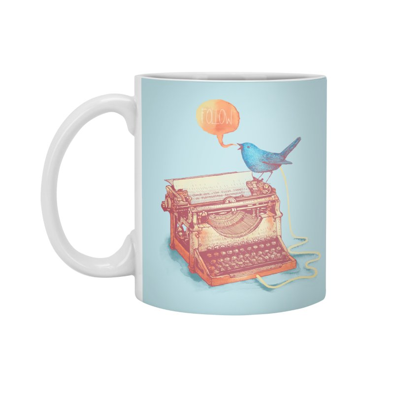 The first tweet Accessories Mug by MrWayne