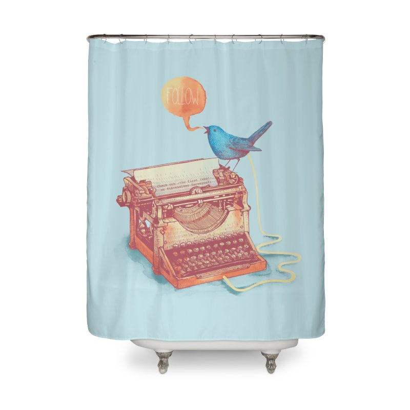 The first tweet Home Shower Curtain by MrWayne
