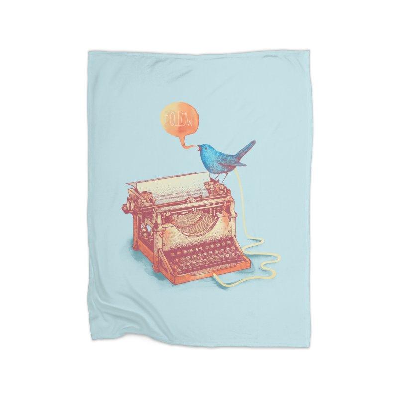 The first tweet Home Fleece Blanket Blanket by MrWayne