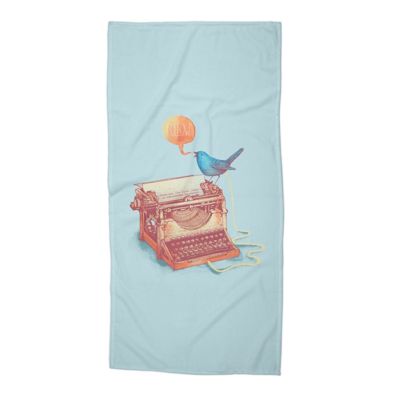 The first tweet Accessories Beach Towel by MrWayne