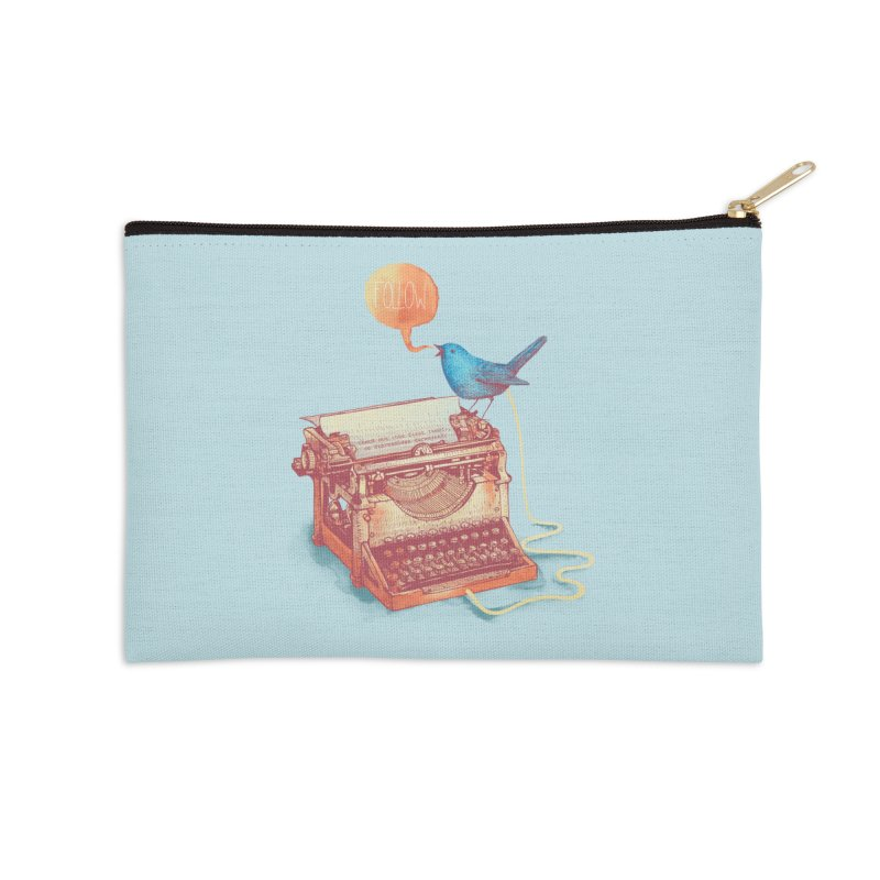 The first tweet Accessories Zip Pouch by MrWayne