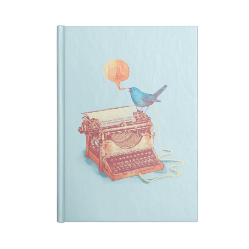 The first tweet Accessories Notebook by MrWayne
