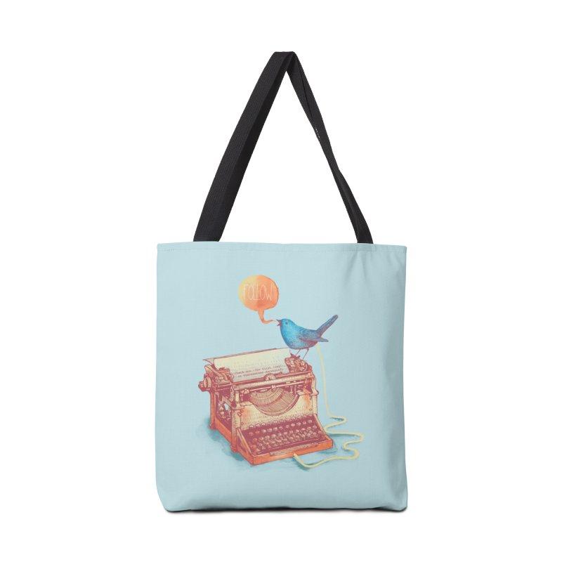 The first tweet Accessories Tote Bag Bag by MrWayne