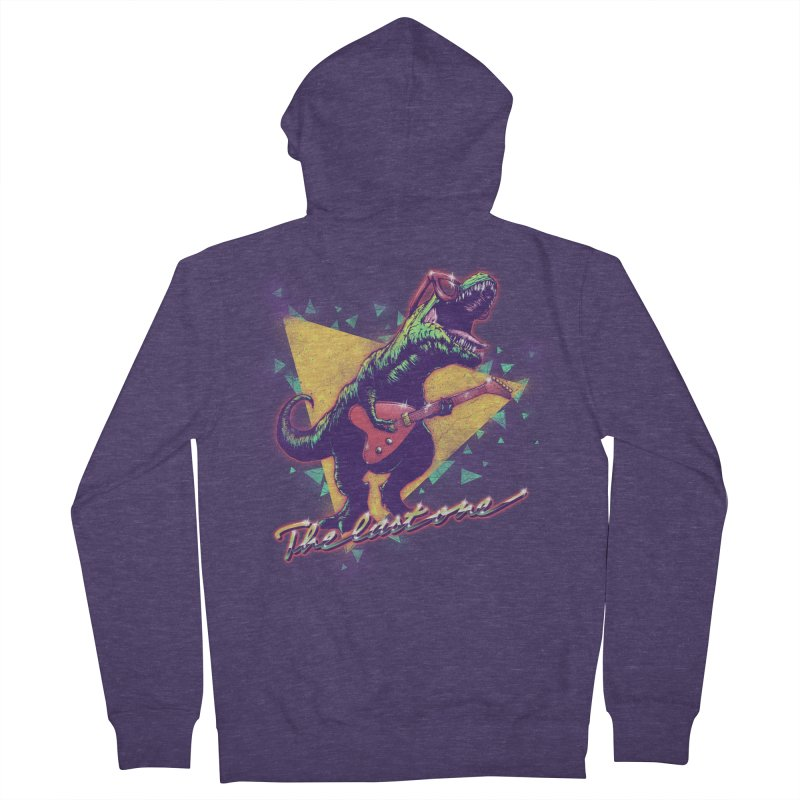 Denver the last one Men's Zip-Up Hoody by MrWayne