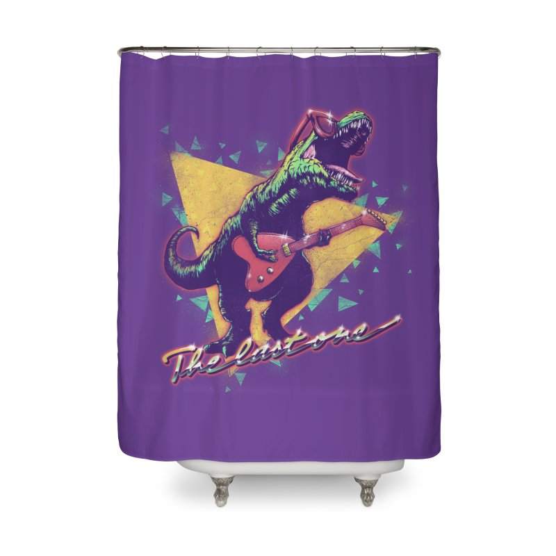 Denver the last one Home Shower Curtain by MrWayne