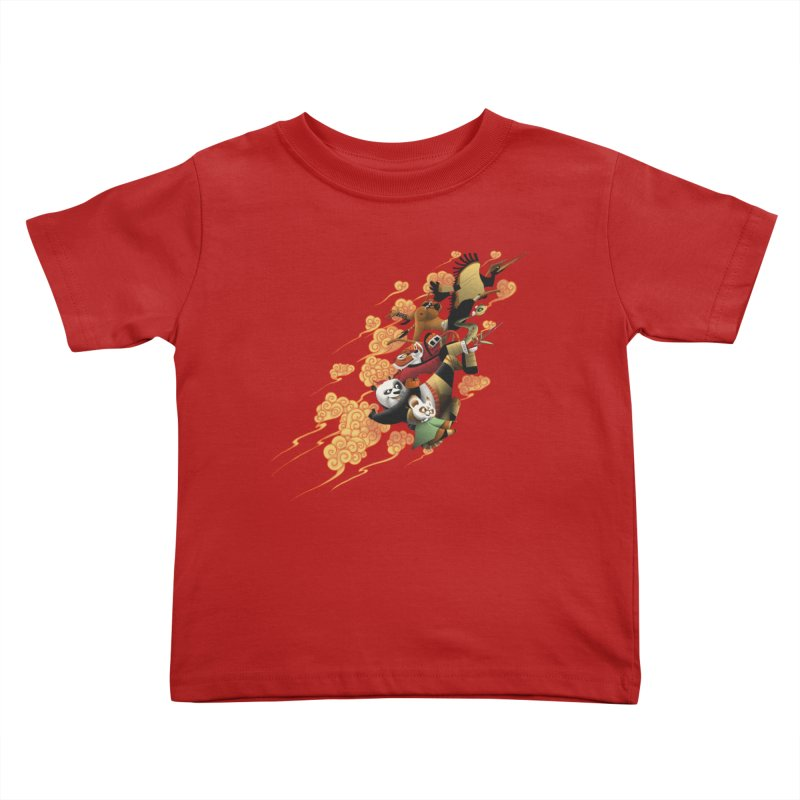 Masters attack Kids Toddler T-Shirt by MrWayne