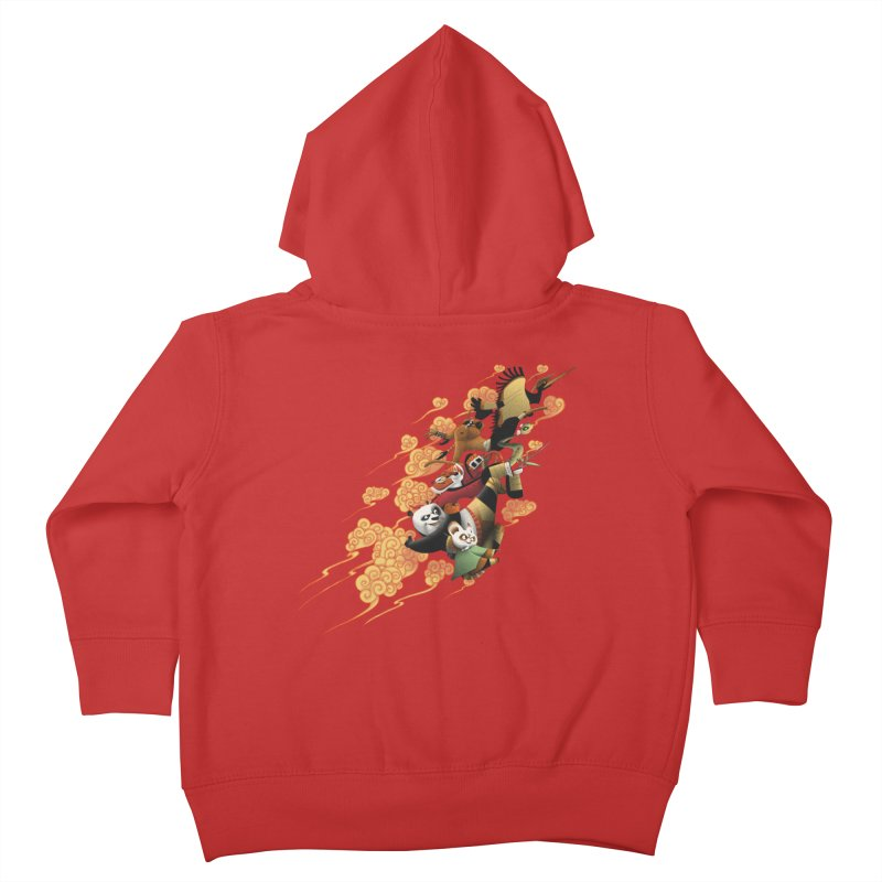 Masters attack Kids Toddler Zip-Up Hoody by MrWayne