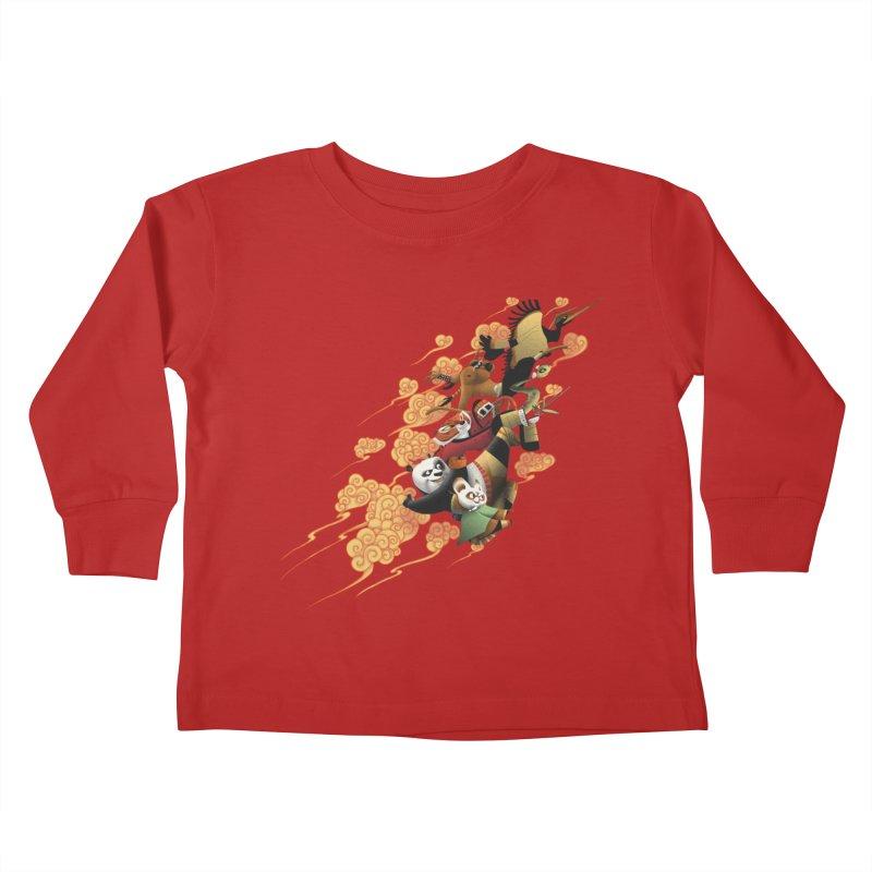 Masters attack Kids Toddler Longsleeve T-Shirt by MrWayne