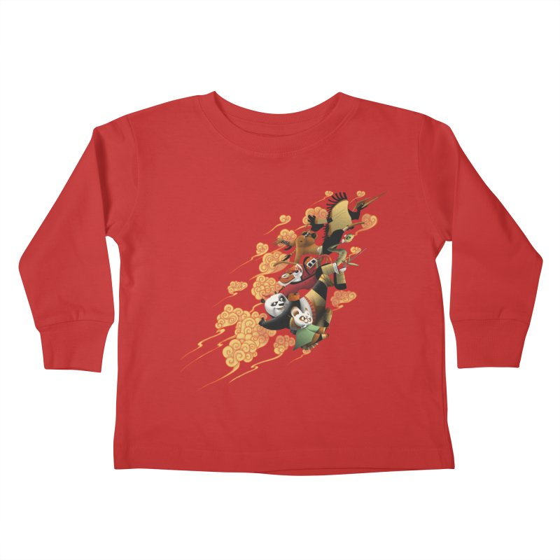 Masters attack Kids Toddler Longsleeve T-Shirt by MrWayne