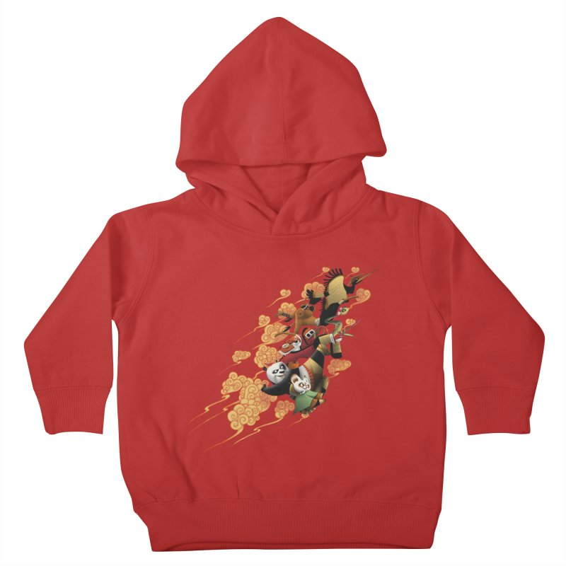 Masters attack Kids Toddler Pullover Hoody by MrWayne