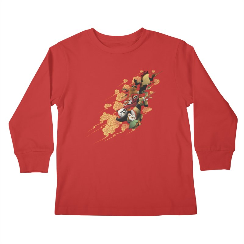 Masters attack Kids Longsleeve T-Shirt by MrWayne