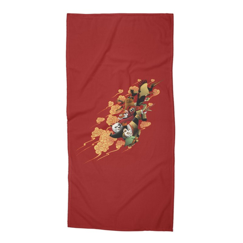 Masters attack Accessories Beach Towel by MrWayne