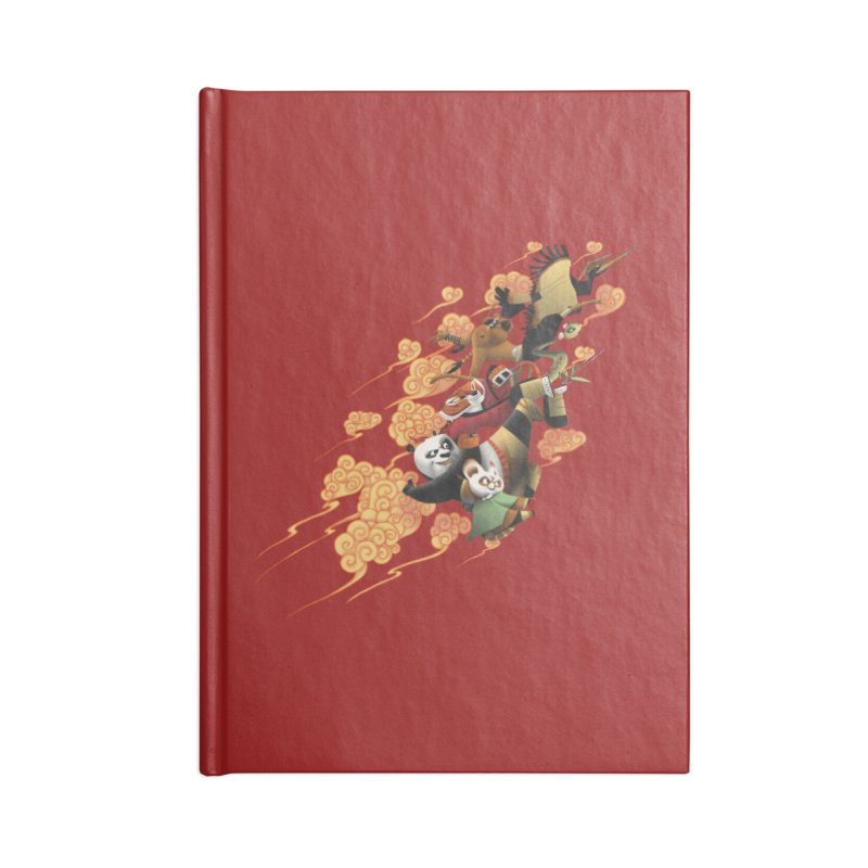 Masters attack Accessories Notebook by MrWayne