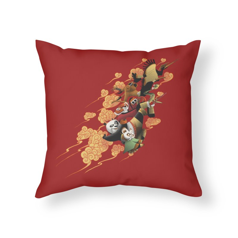 Masters attack Home Throw Pillow by MrWayne