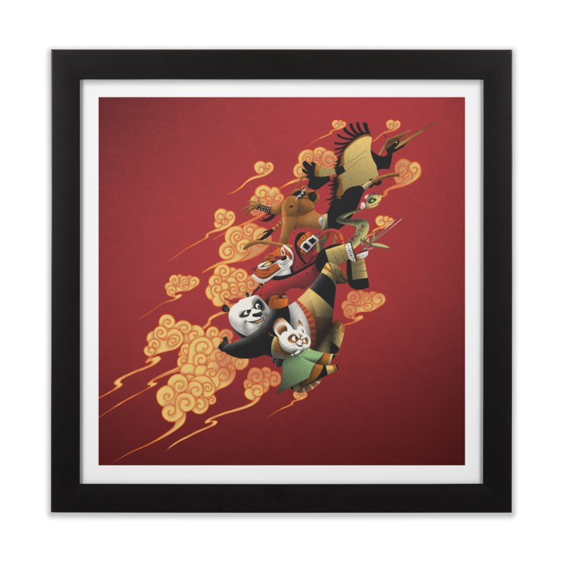 Masters attack Home Framed Fine Art Print by MrWayne