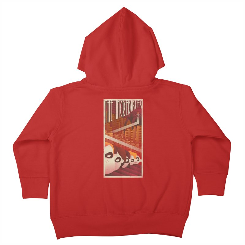 The incredible family Kids Toddler Zip-Up Hoody by MrWayne
