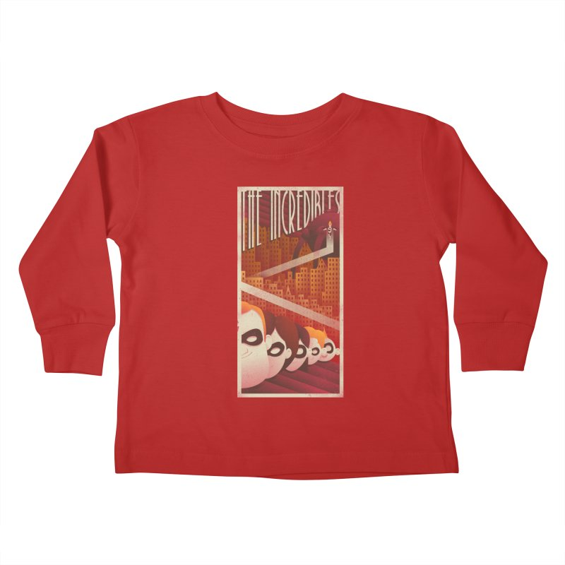 The incredible family Kids Toddler Longsleeve T-Shirt by MrWayne