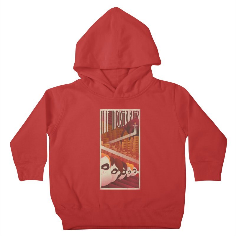 The incredible family Kids Toddler Pullover Hoody by MrWayne
