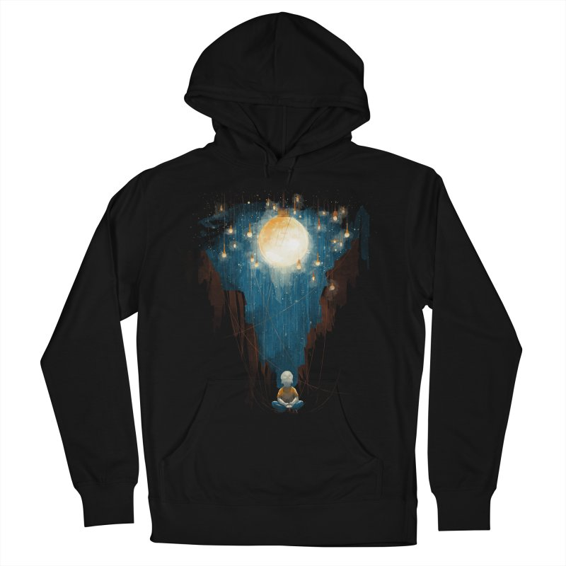 Switch on the lights Men's French Terry Pullover Hoody by MrWayne