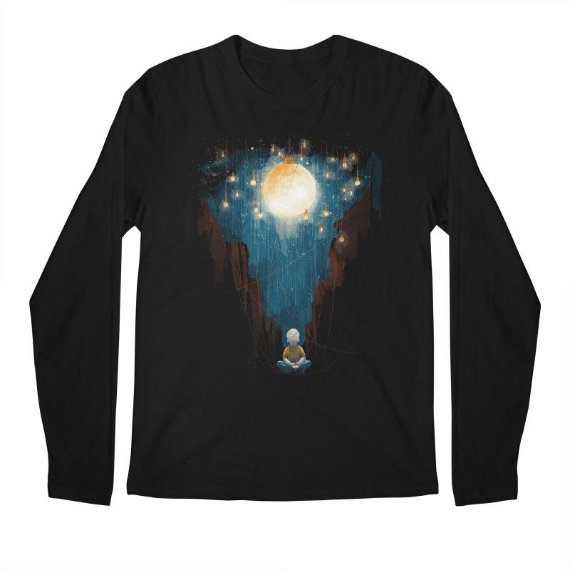 Switch on the lights Men's Longsleeve T-Shirt by MrWayne