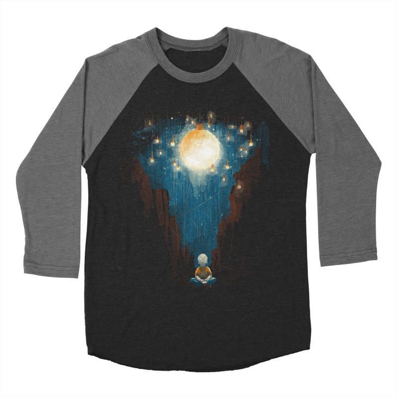 Switch on the lights Men's Baseball Triblend T-Shirt by MrWayne