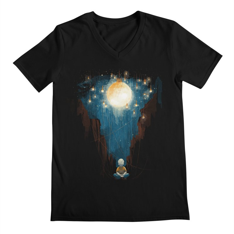 Switch on the lights Men's V-Neck by MrWayne