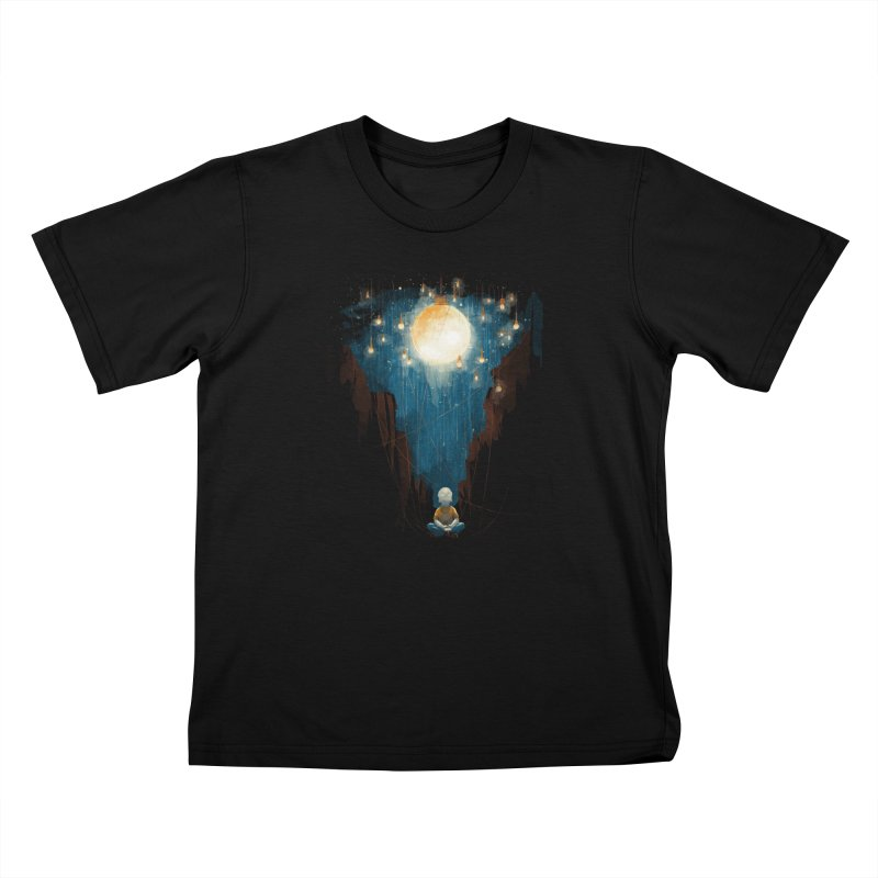 Switch on the lights Kids T-Shirt by MrWayne