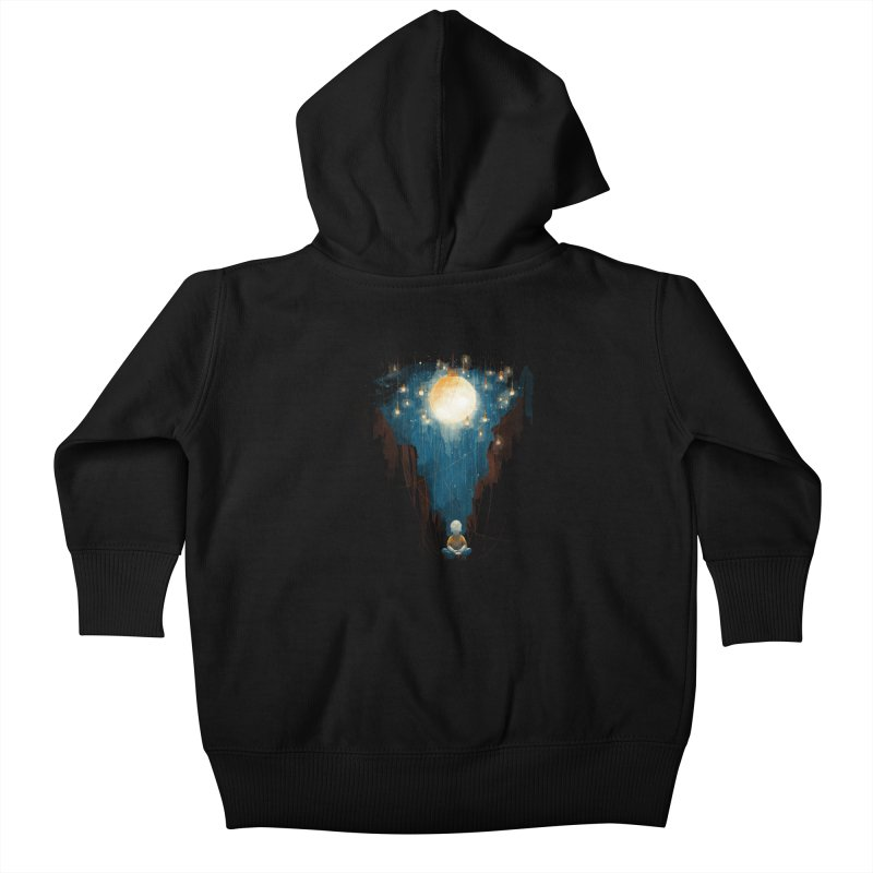 Switch on the lights Kids Baby Zip-Up Hoody by MrWayne