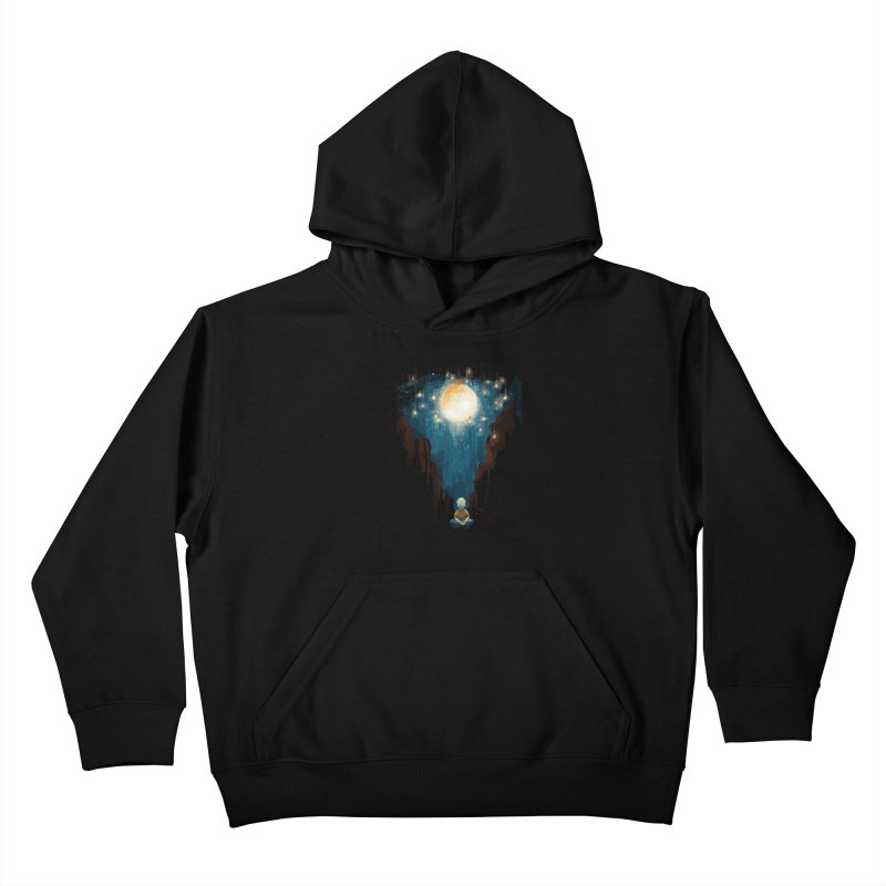 Switch on the lights Kids Pullover Hoody by MrWayne