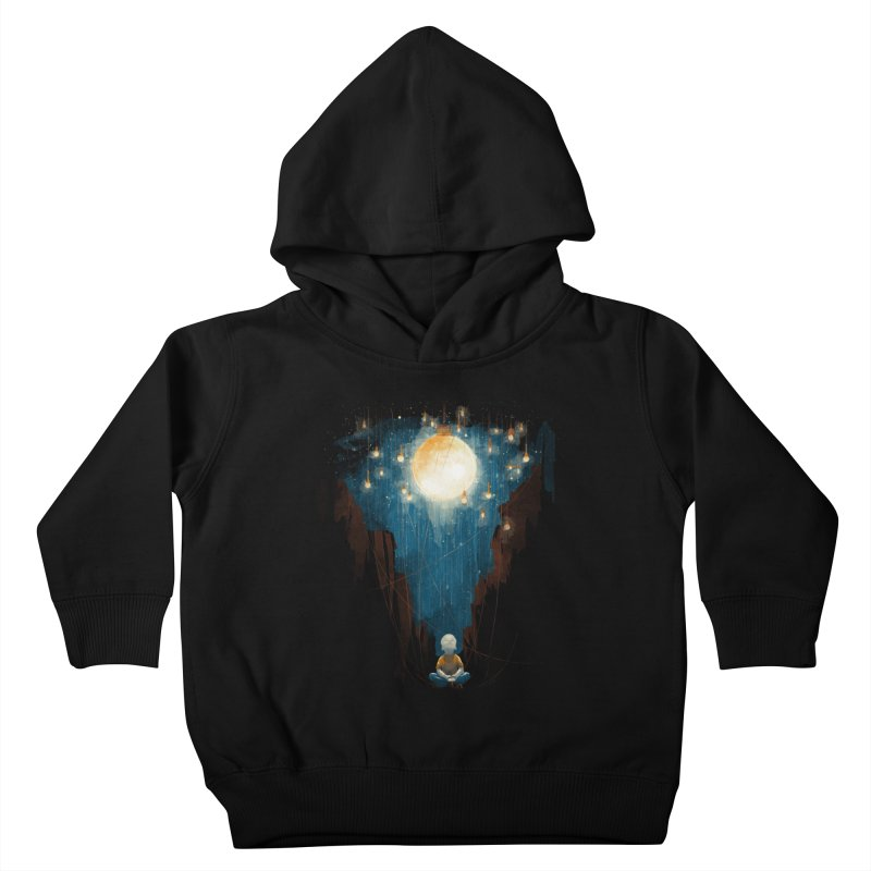 Switch on the lights Kids Toddler Pullover Hoody by MrWayne