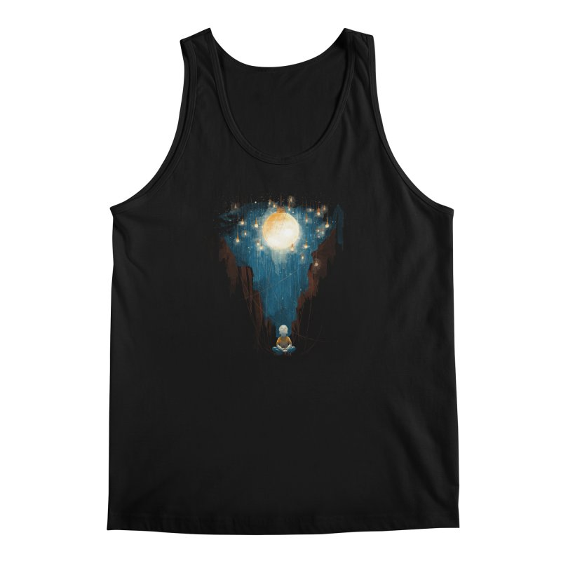 Switch on the lights Men's Tank by MrWayne